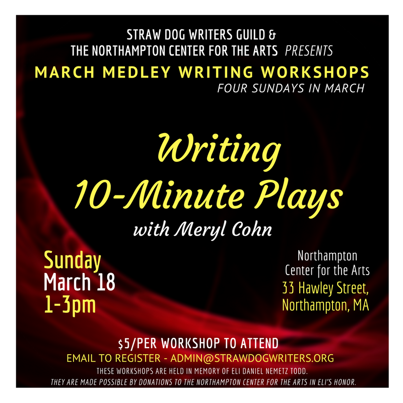 How To Begin Writing 10-Minute Plays With Meryl Cohn