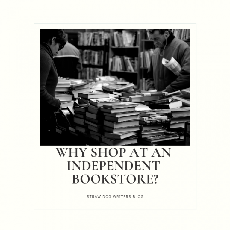 Why shop at an independent bookstore?